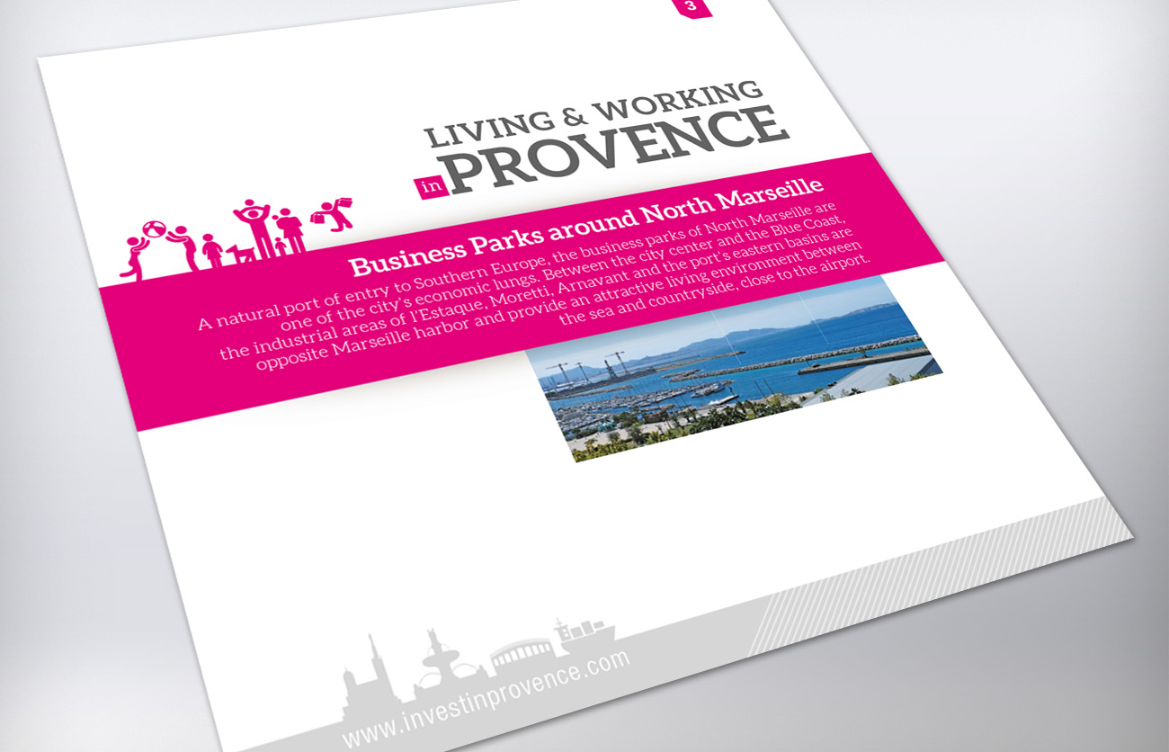 Business Parks around North Marseille