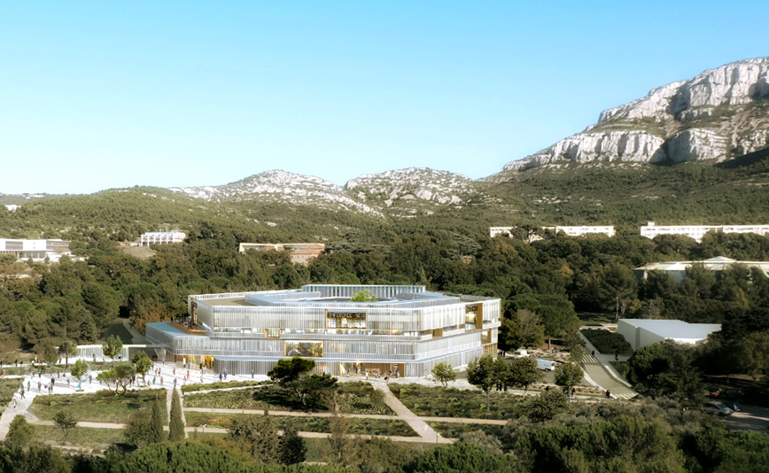 Aix-Marseille University: A Historic Renovation for the Luminy Campus