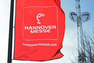 Winning over German companies at Hannover Messe