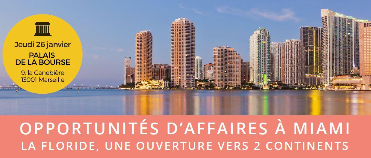 Mission économique Miami-Floride octobre 2017