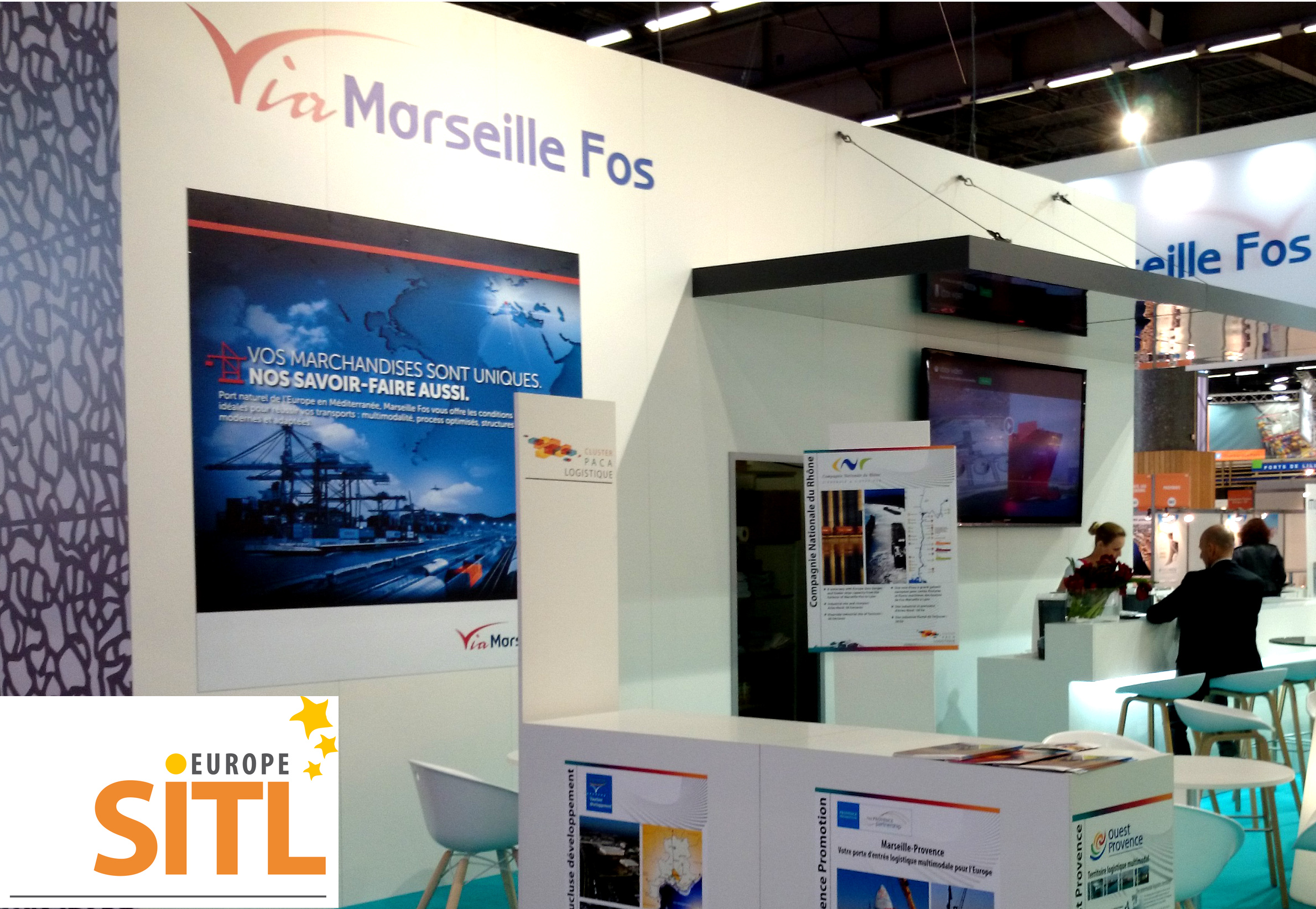 Provence Promotion to attend SITL with the Port of Marseille and Via Marseille Fos