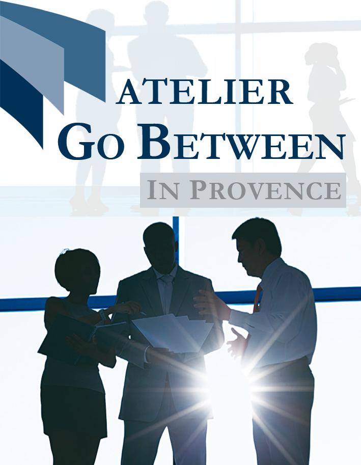 Prochain Atelier Go Between in Provence