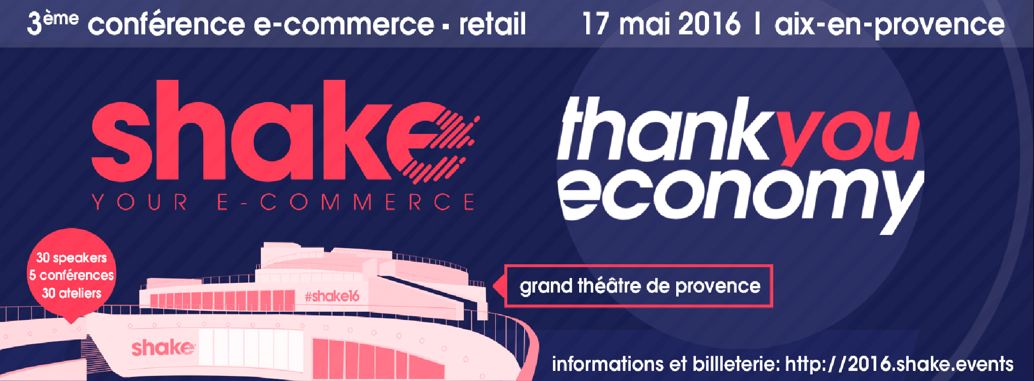 Shake 2016 will bring e-commerce in Provence to life