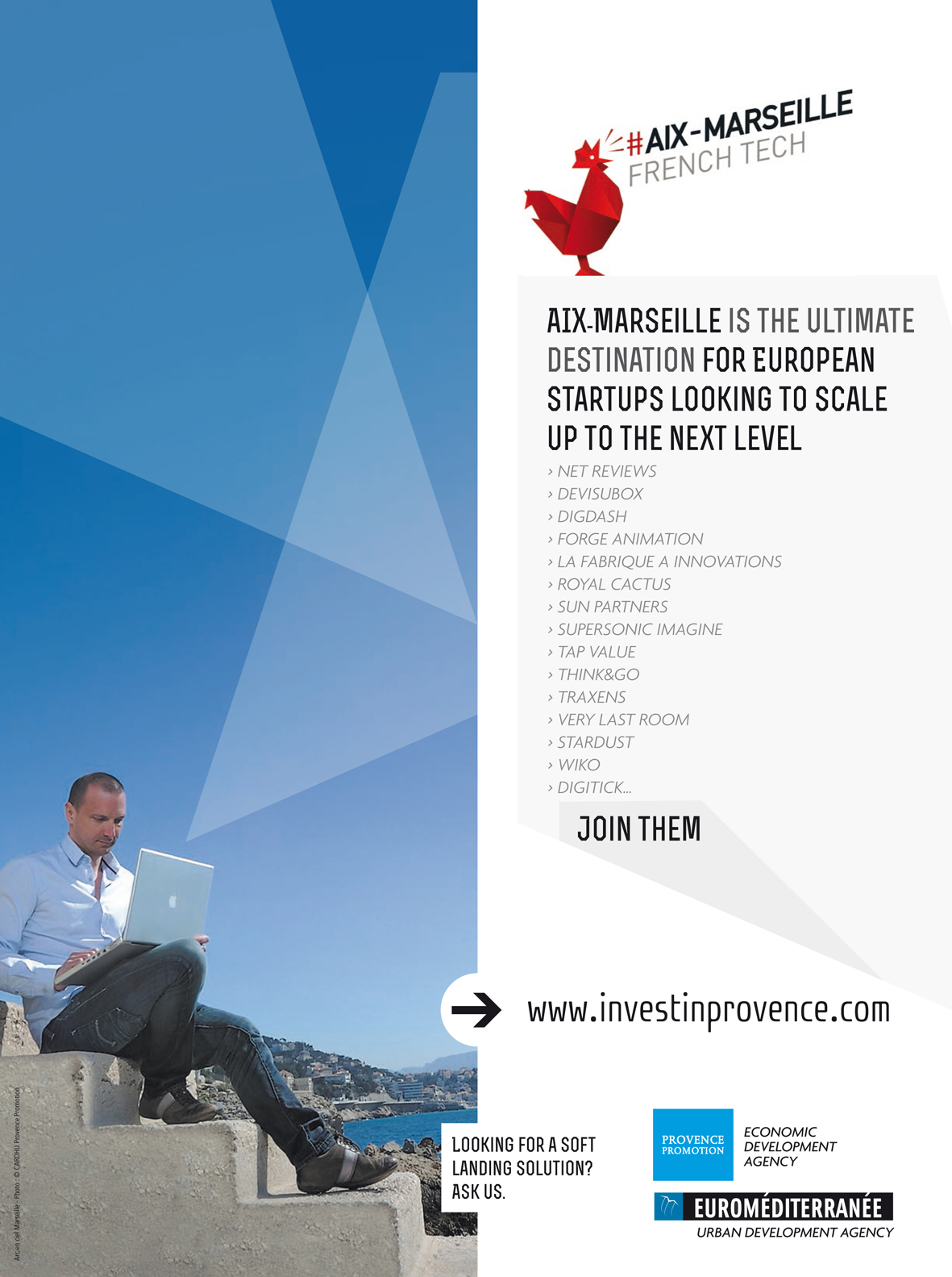 Tech City News in Marseille for French Tech Week