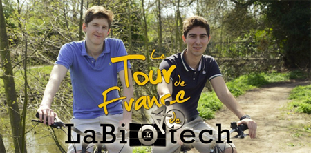 Deux jeunes passionnés de biotechnologie à l'assaut de la France en vélo