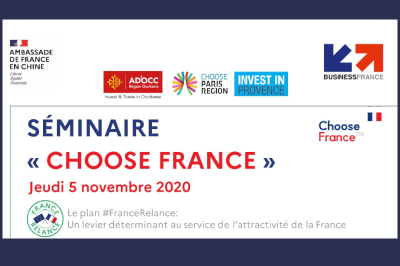 Attractivité : Provence Promotion intervient à Choose France en Chine