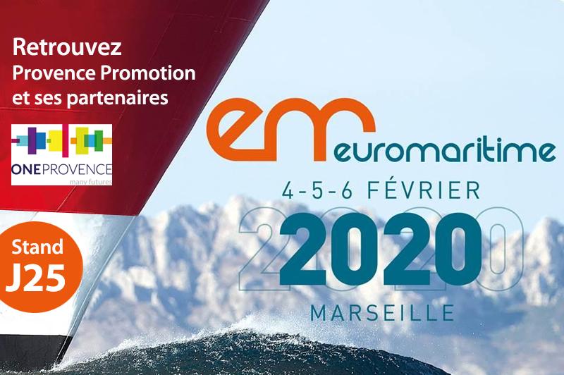 Le salon Euromaritime pour la première fois à Marseille
