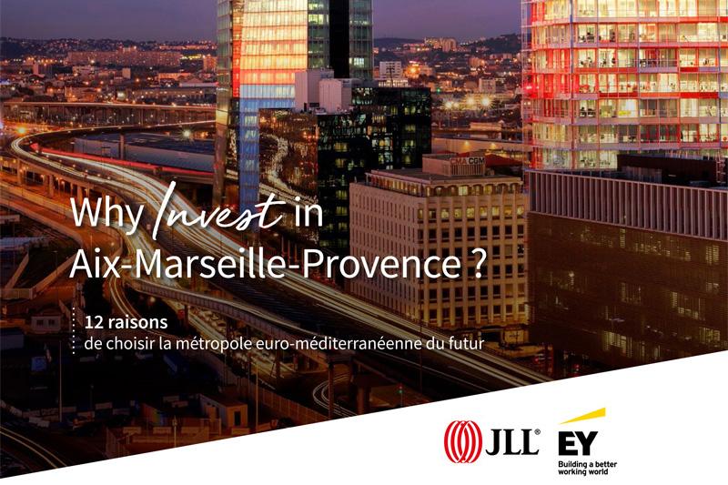 L'attractivité de la Métropole Aix-Marseille-Provence passée au crible par EY et JLL