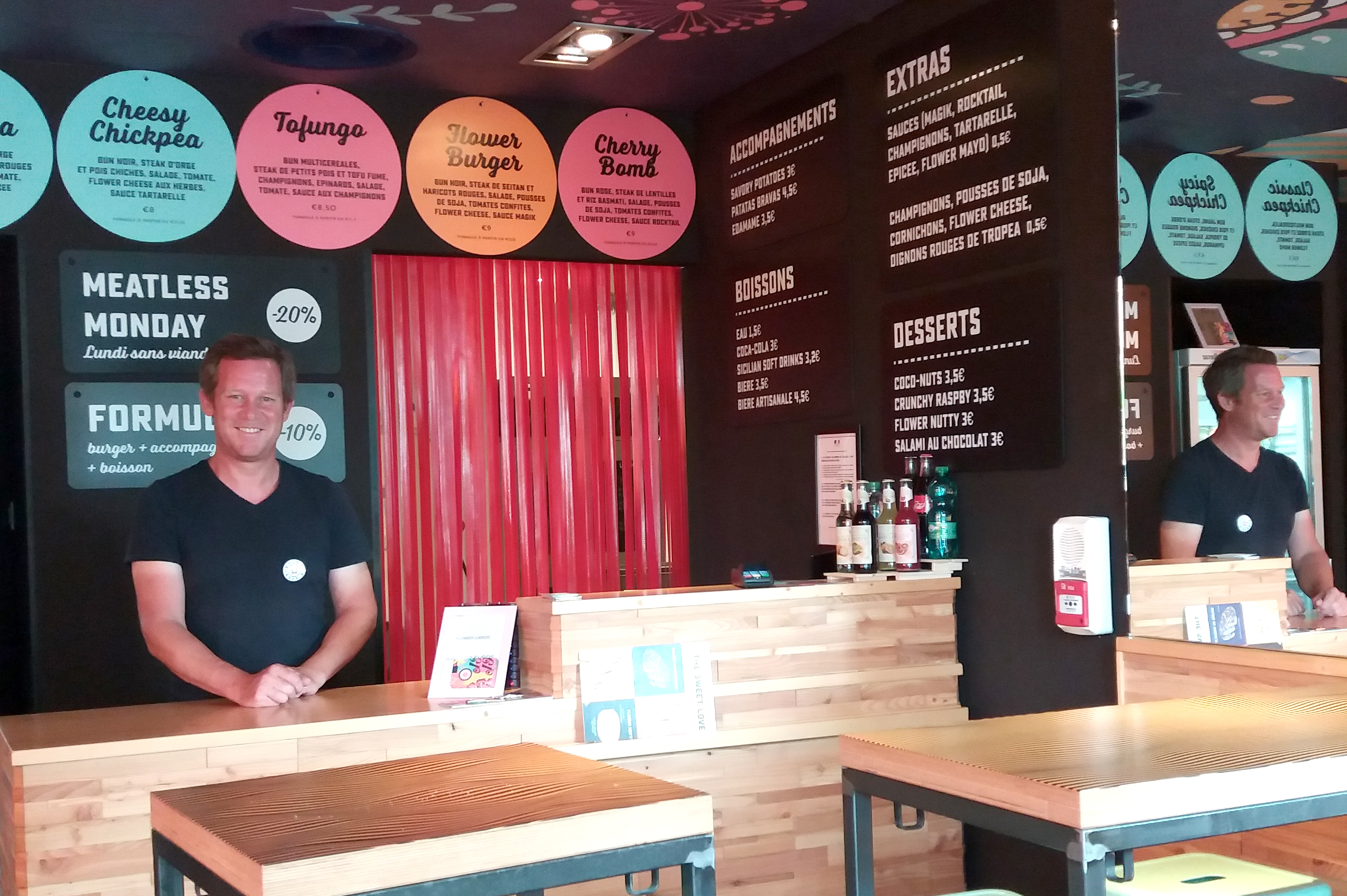 Flower Burger, the new concept store is expanding to France and chooses Marseille