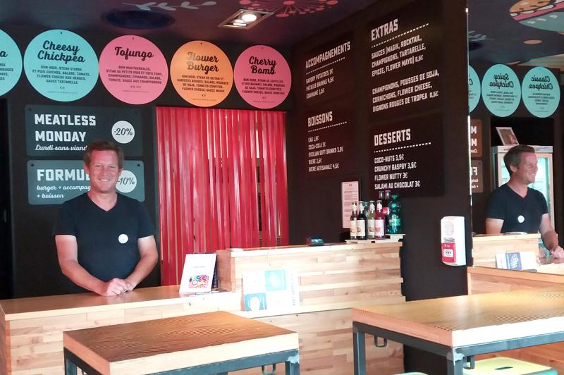 Le nouveau concept Flower Burger se développe en France et choisit Marseille