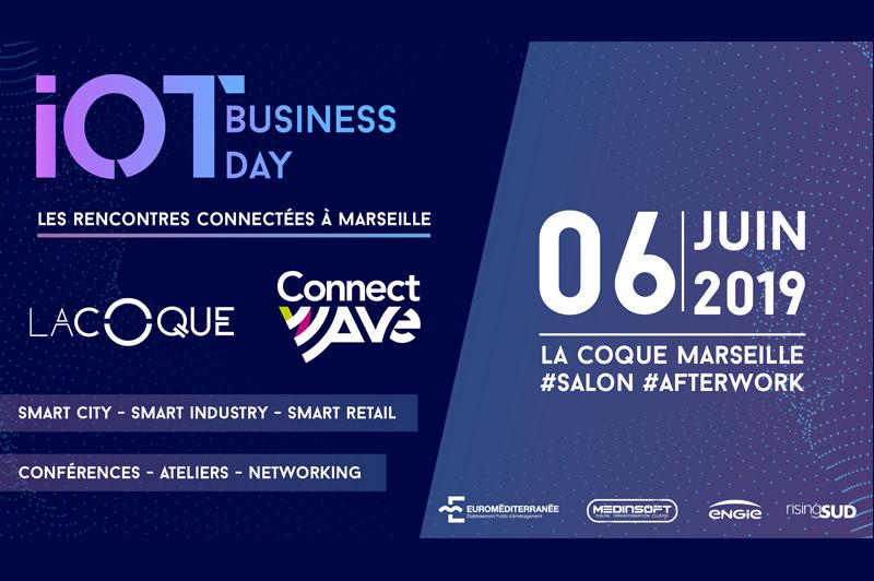 IoT Business Day à Marseille pour faire avancer les recherches et les applications