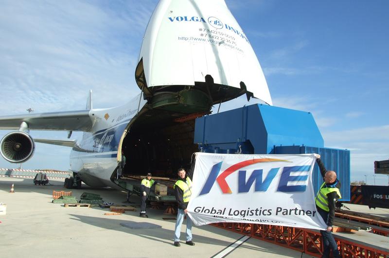 Le transitaire japonais Kintetsu World Express définit sa trajectoire sur le tarmac de Marignane