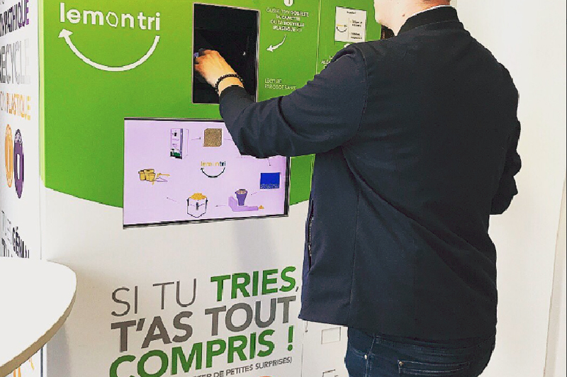 Socially-responsible and inspirational waste sorting comes to Marseille
