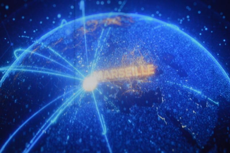 En pleine crise, Marseille joue son rôle stratégique de hub numérique