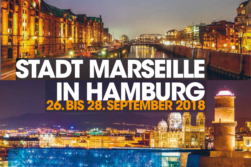 Marseille-Hamburg: 60 years of twinning celebrated by a speciale official mission