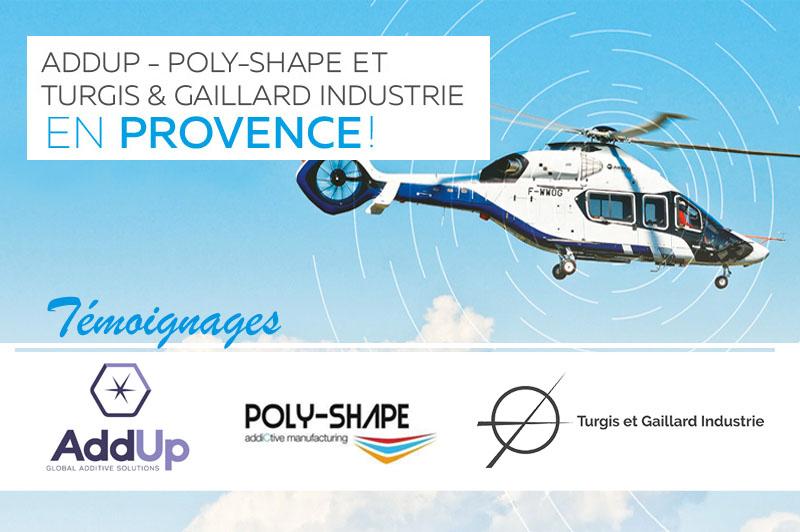 Les investissements d'AddUp et Turgis & Gaillard récompensés au salon aéronautique du Bourget
