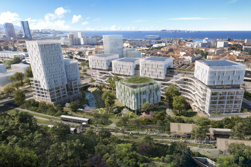 The future of the workplace takes shape in Marseille with