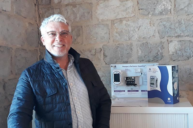 Q Core Medical choisit Marseille pour diffuser ses systèmes de perfusion en Europe