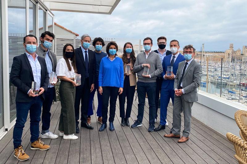 Six entreprises reçoivent le label Invest in Provence