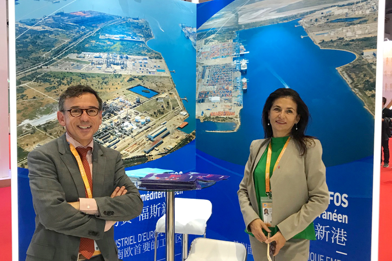 Teaming up to promote the Fos manufacturing and port zone in China