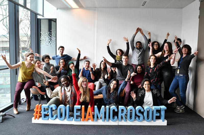Lancement de l'école IA Microsoft by Simplon à Marseille