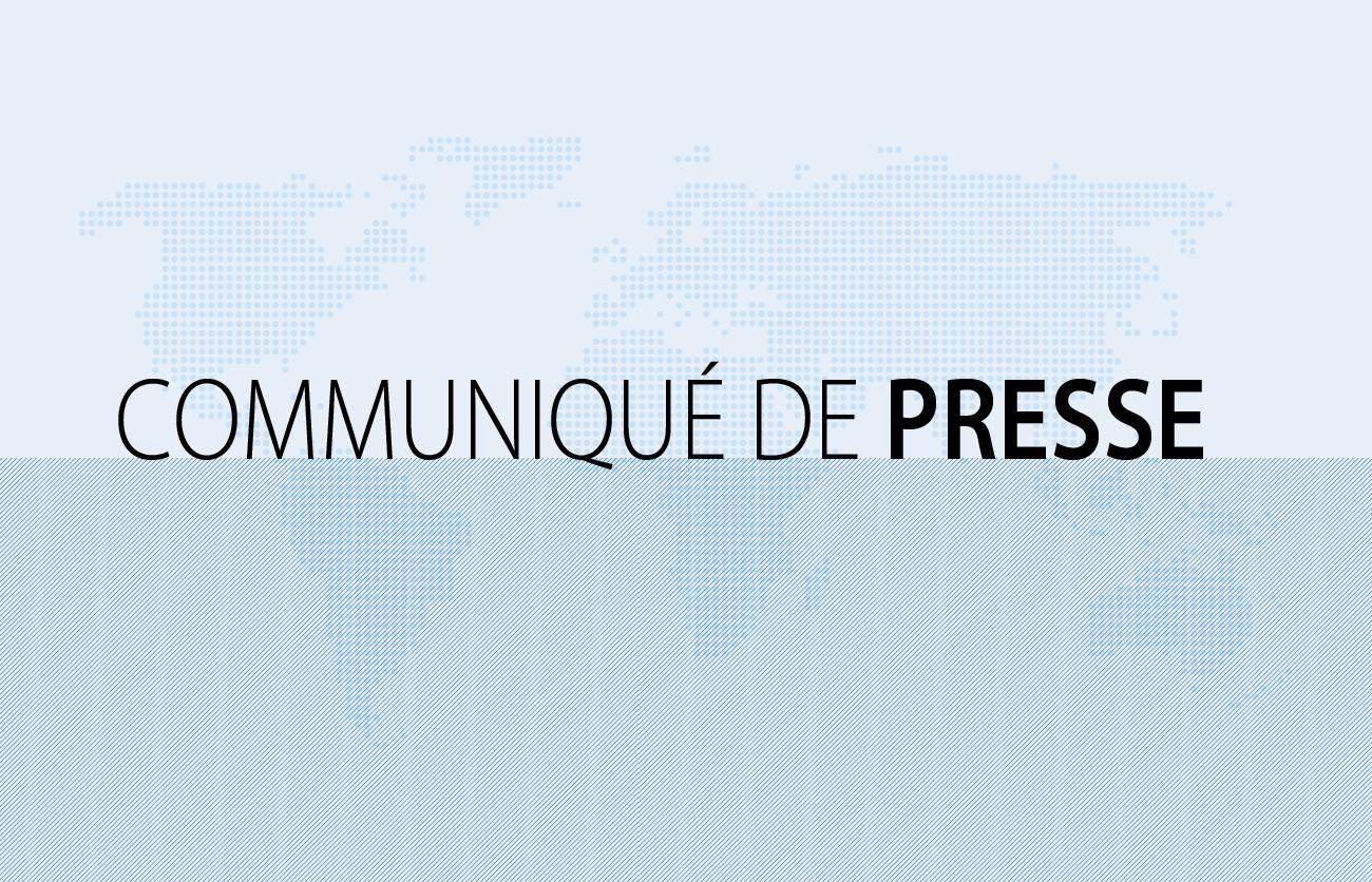 Communiqué de presse au 02.04.2019 - Publication des résultats 2018