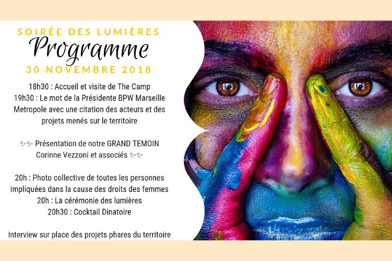 thecamp accueille La soirée des Lumières