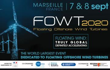 FOWT 2020, a favourable breeze for floating offshore wind in Marseille