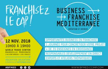"Brands and Future Franchisees Meet at ""Business Franchise Méditerranée"""