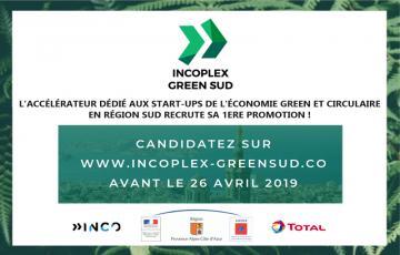 Appel à candidature pour les start-ups de l'économie verte & circulaire