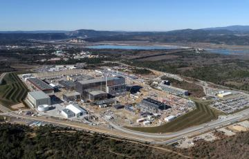 At the ITER worksite,