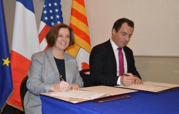 First University Cooperation between Arts et Métiers Aix-en-Provence and Texas A&M's TEES