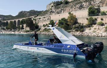 Platypus Craft and its semi-submersible dock in Marseille to pursue development