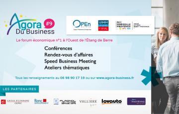 L'Agora du Business, un forum économique à l'ouest du territoire