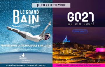 Provence Promotion et la Ville de Marseille accueillent une délégation de la tech lors du Grand Bain et du Grand Opening