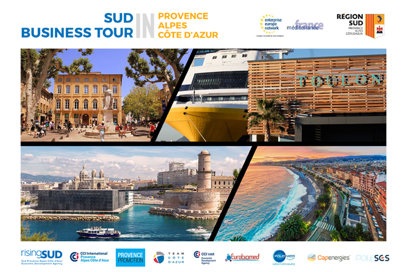 "California embarks on a ""Sud Business Tour""!"